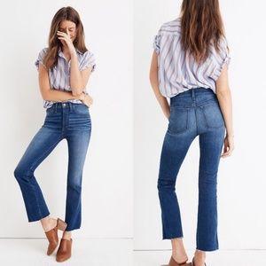 Madewell Cali Demi Boot Jean Size 31 Tall
